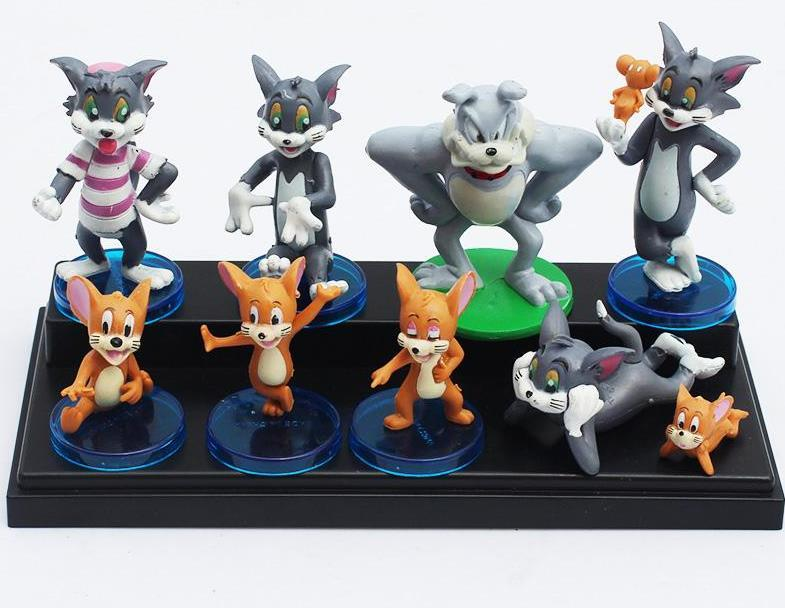 hot sale tom and jerry figure toy dolls cute