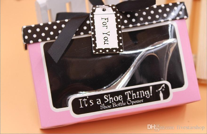 European Wedding & Event Party Favors Gift High Heel Wine Bottle Opener Can Openers Anniversary Favors Bridal Party Favors From Fivestarshop, $39.2|