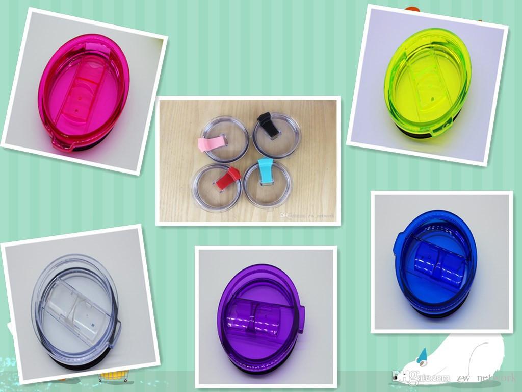 30 온스 컵 커버 용 다색 플립 슬립 뚜껑 30OZ 뚜껑은 텀블러 교체 텀블러 컵 캡에 맞음