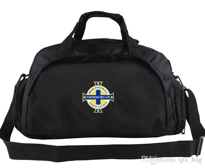 Northern Ireland duffel bag North country badge tote Dark hedges backpack Football luggage Sport shoulder duffle Outdoor sling pack