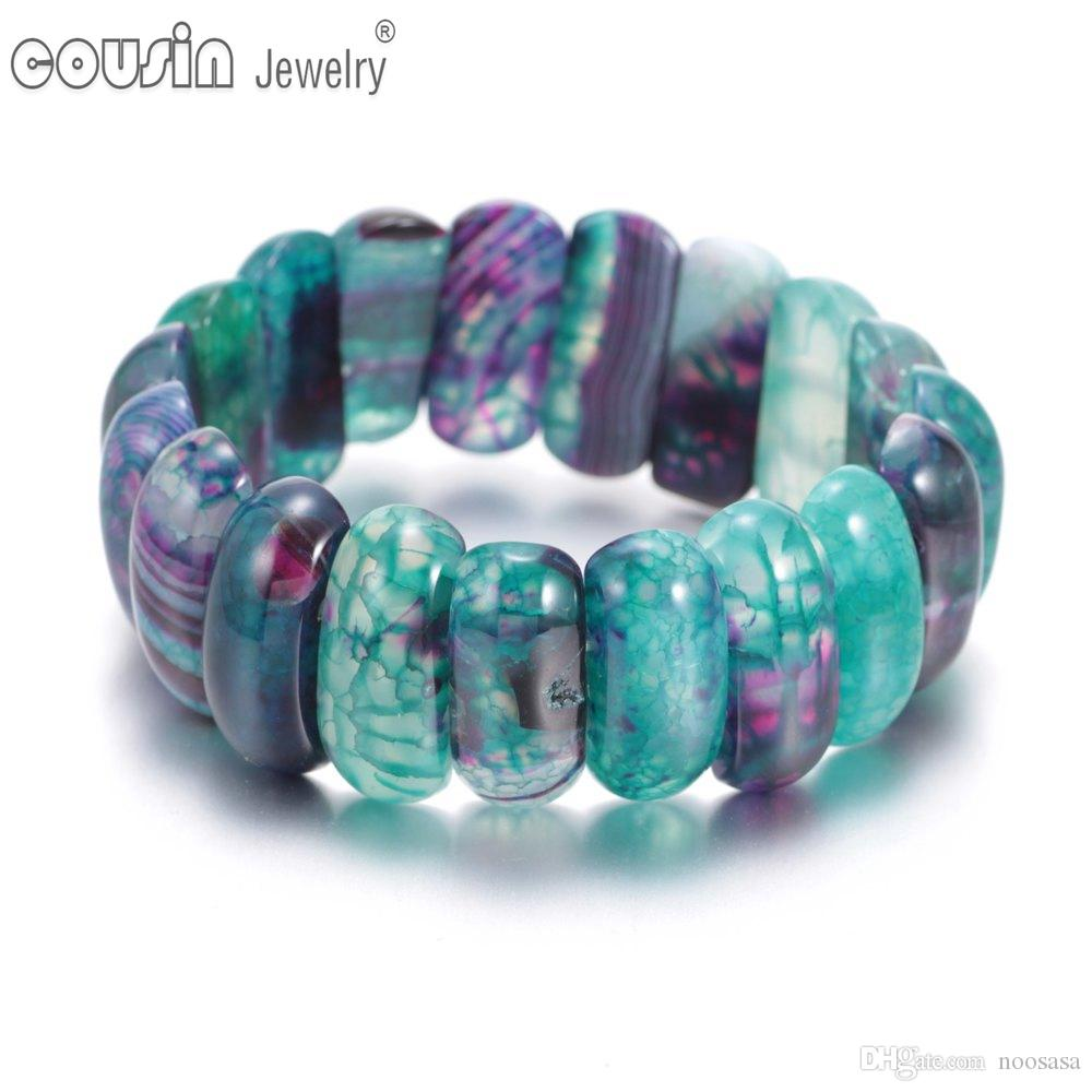 New arrivals fashion charm Beaded bracelet high quality Natural Crystal Stone Bracelet for women jewelry SZ0450b