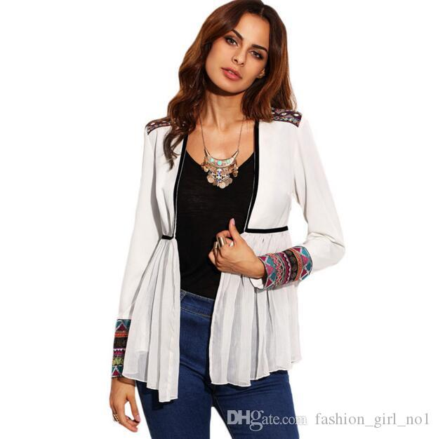 2017 New Women Long Sleeve Cardigan Capes jersey Tops Casual Thin knitted Sweater Outwear pull femme Cheap