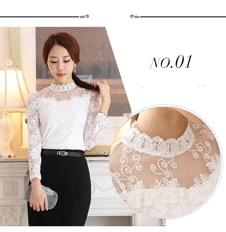 lace blouse 508