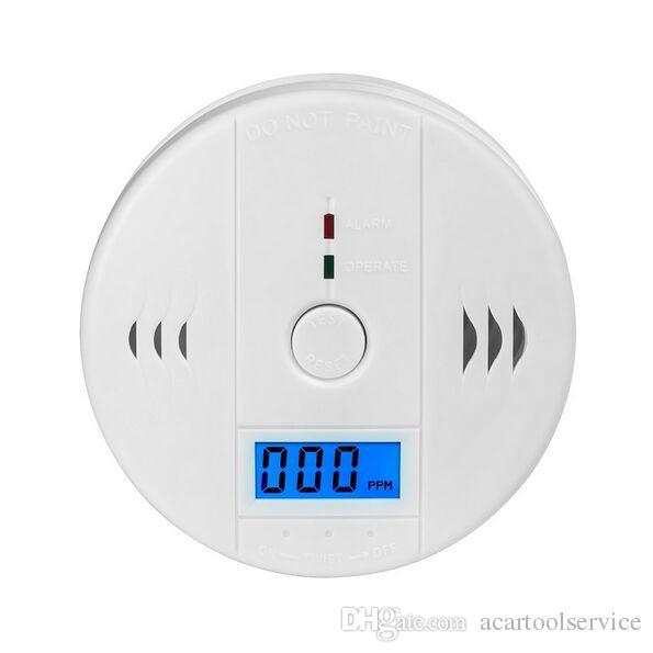 جودة عالية السلامة المنزلية co أول أكسيد الكربون التسمم دخان الاستشعار الغاز تحذير إنذار الكاشف المطبخ