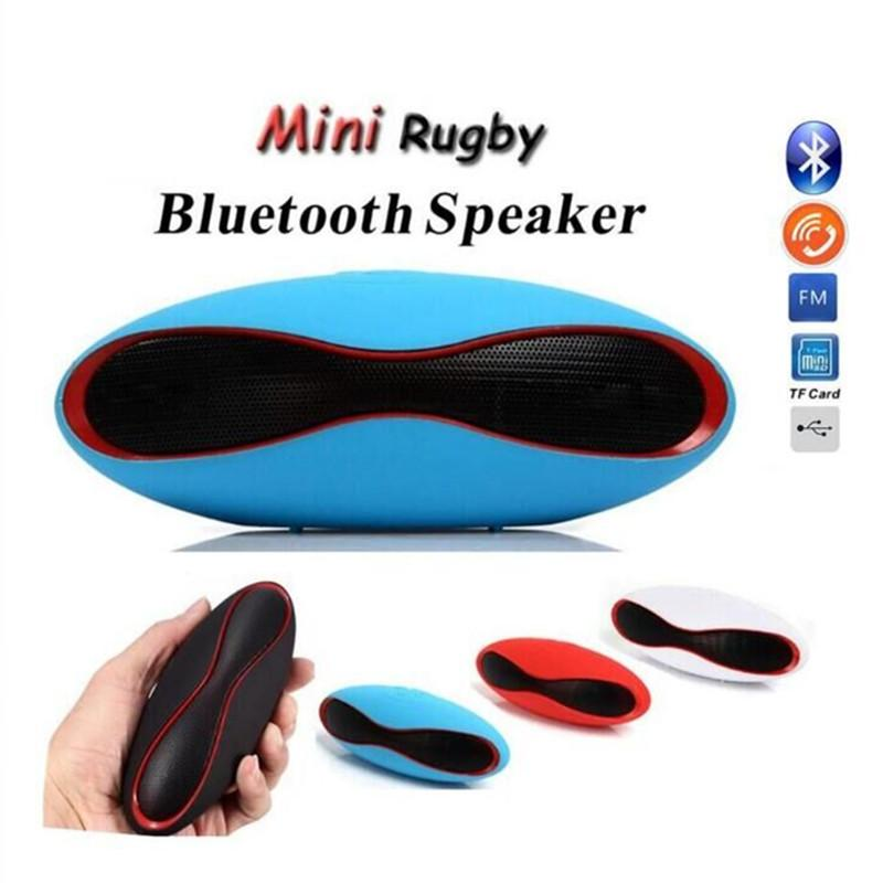Mini Portable X6 Rugby Wireless Bluetooth Speaker Boombox Sports Loudspeaker Music Player Support TF/USB Sound Bar For Android Phone 1ps/lot