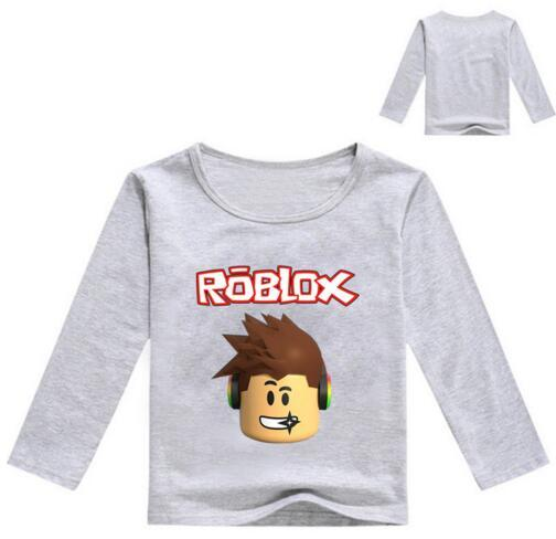 2020 2017 Kids Long Sleeve T Shirt For Boys Roblox Costume For