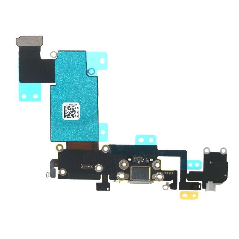 100 ADET USB Dock Connector Şarj Şarj Portu Flex Kablo iphone 6 6 s 4.7 inç 6 Artı 5.5 inç ücretsiz DHL