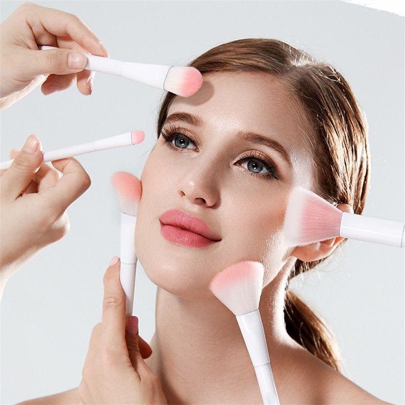 17 PCS Makeup Brushes Set Soft Make-up Brush Kit Brand Comestic Makup eyeliner eyeshadow lip blush BB Cream Blush Brush Set DHL Free