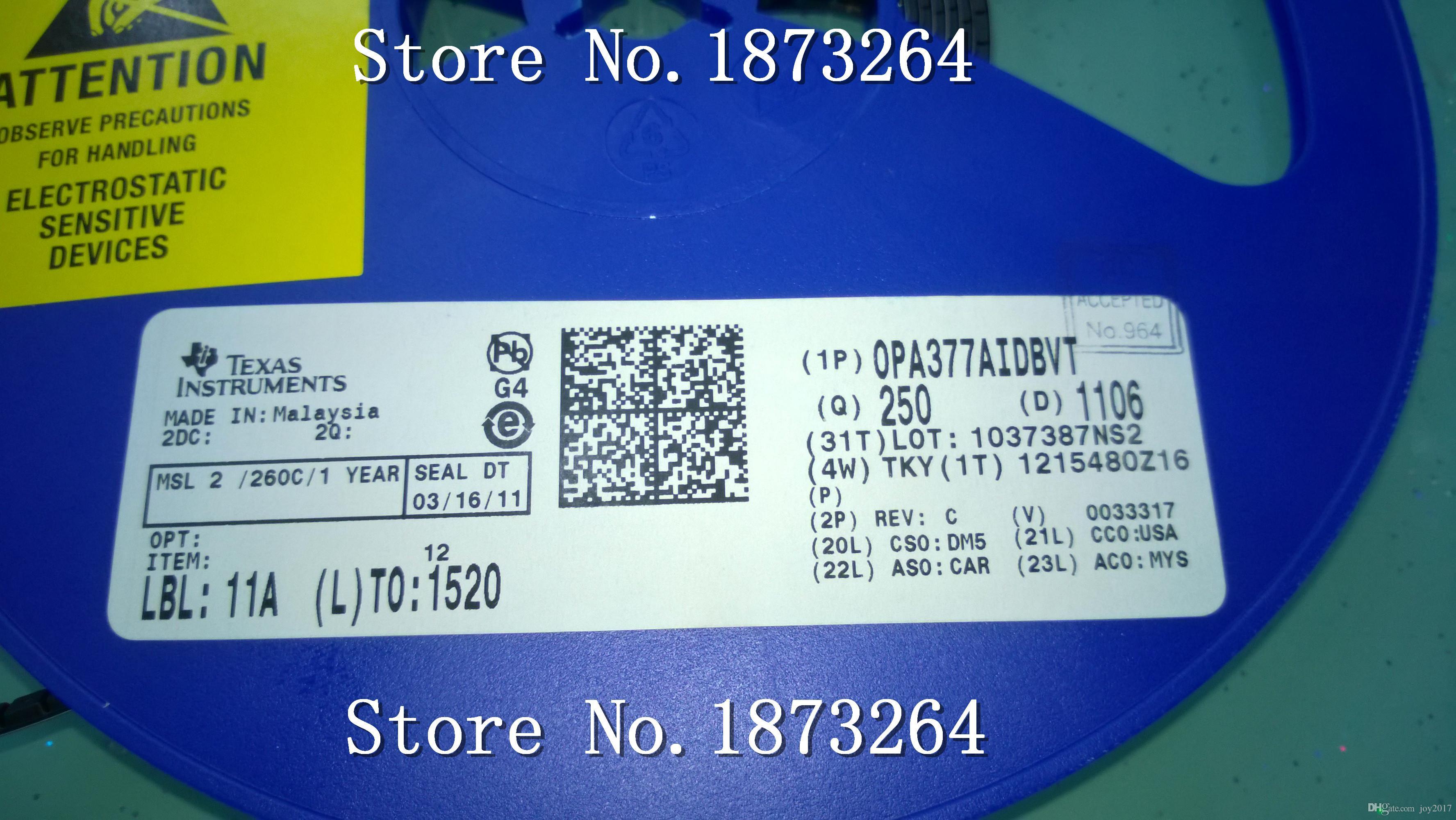 Ücretsiz kargo OPA377AIDBVT OPA377AIDBVR OPA377AIDBV SOT-23 Cihazı Işaretleme: PAG Yeni ve Orijinal 10 ADET / GRUP