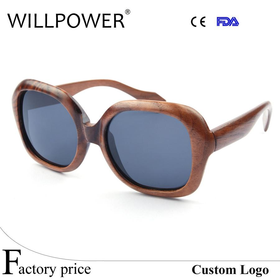 2016 W3024 Wholesale Full Wooden fashionable Sunglasses women