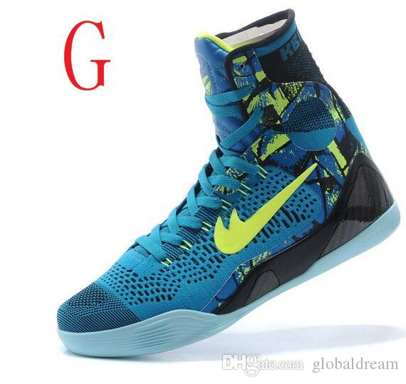 Kobe 9 Elite Christmas.2019 High Quality Kobe 9 Elite Black Mamba Blackout Bhm Replicas Christmas Men Basketball Shoes Kb 9 Ix High Sneakers With Box From Globaldream 73 3