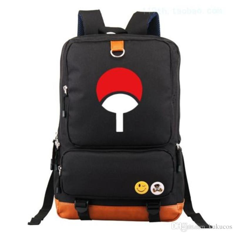 Kukucos Anime Canvas Bag NEW Anime NARUTO Backpack Cosplay Gift Schoolbag Laptop Bags VFAWD Shine At night