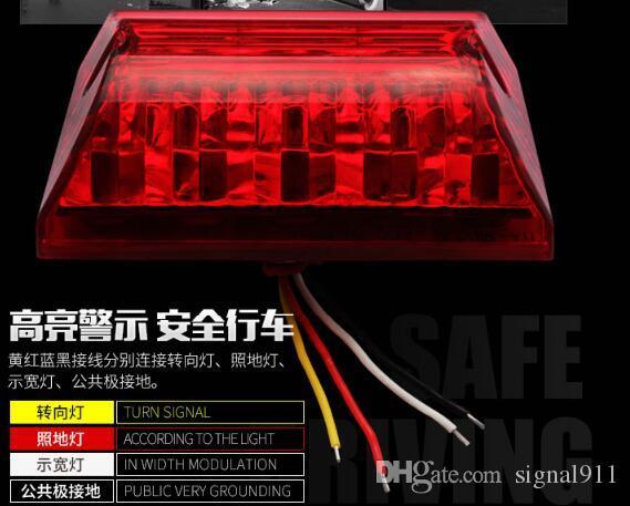 Dcvv CarTruckTrailer Side Marker Led Emergency LightsRear - Car signal light
