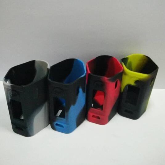 Wismec RX mini étuis en silicone 12colors RX mini étui en silicone pour la peau