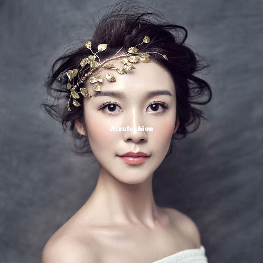 2021 Bride Tiara Bridal Wedding Hair Accessories Headband Bijoux De Tete Cheveux Noiva Banquet Frontlet Flower Indian Hair Jewelry Tiaras 2017 From Aixufashion 7 44 Dhgate Com