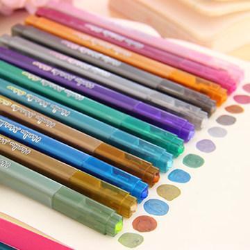HK-202 caneta de tinta de cor venda direta da fábrica de Metal Caneta caneta Marcador de atacado