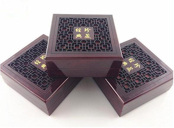 Wooden packing boxes pearl pendant fine jewelry pendant box
