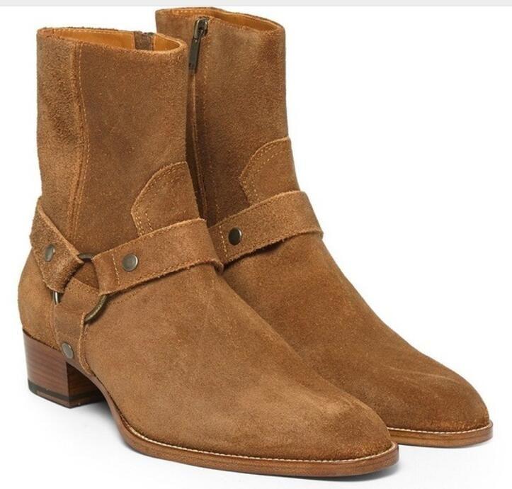 2017 ankunft Hohe Qualität Marke Männer Schuhe Leder Casual Stiefeletten Männer Schuhe Warme Winter herbst Stiefel Mode martin Stiefel