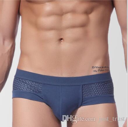 YSDSBM Gay Swimwear Men Bikini Mesh U-Bag con Calzoncillos de nataci/ón Transpirables para Hombres Trajes de ba/ño Tangas para Hombres Ba/ñadores