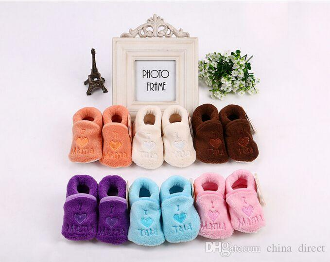 아기 신발 양말 유아 양말 소년 신발 Gilrs 신발 부팅 36pairs / lot # 2218