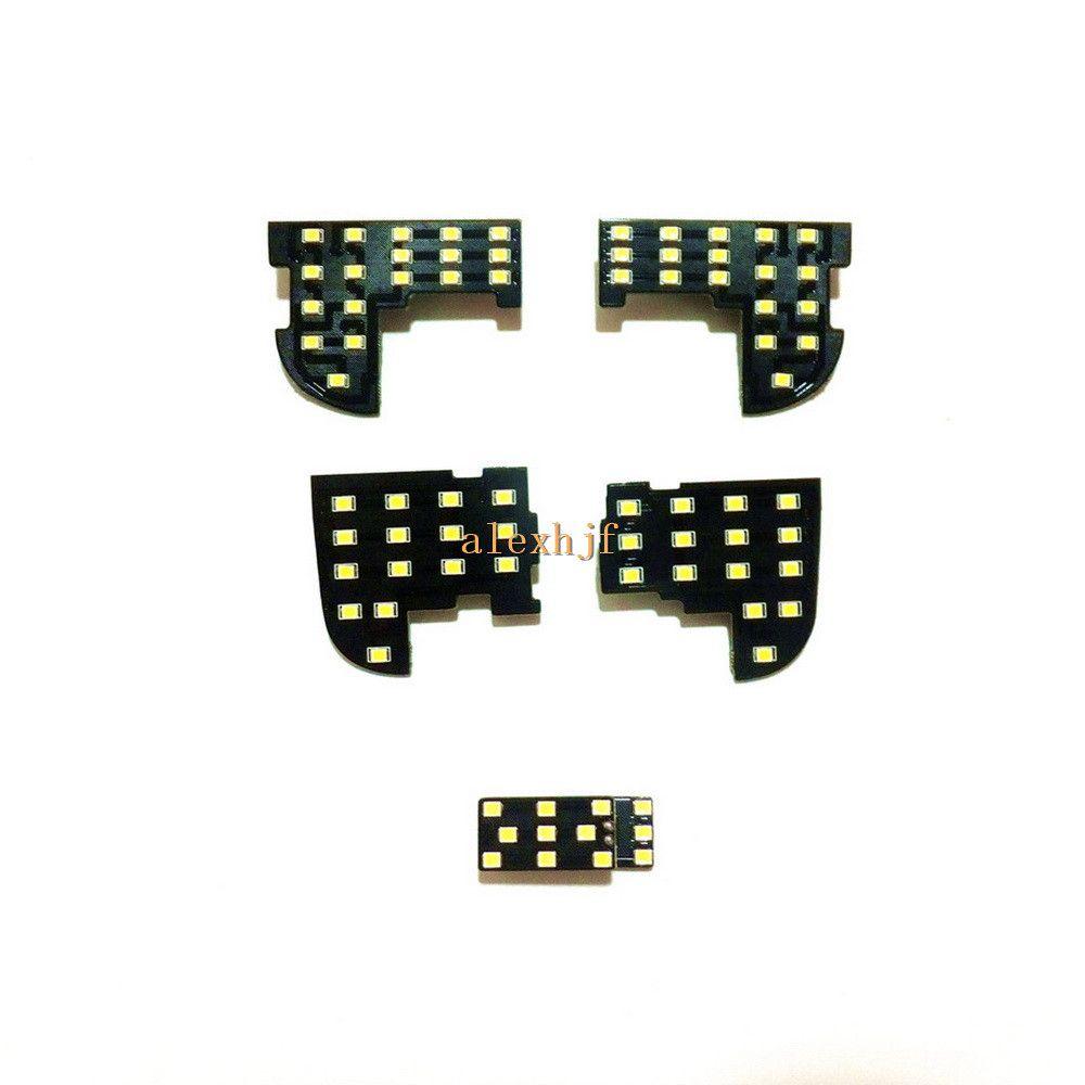 luci di lettura a LED per interni auto, 5050 auto LED SMD caso Luci decorative per la Honda Accord 8 2008-2014, 5 pc / insieme