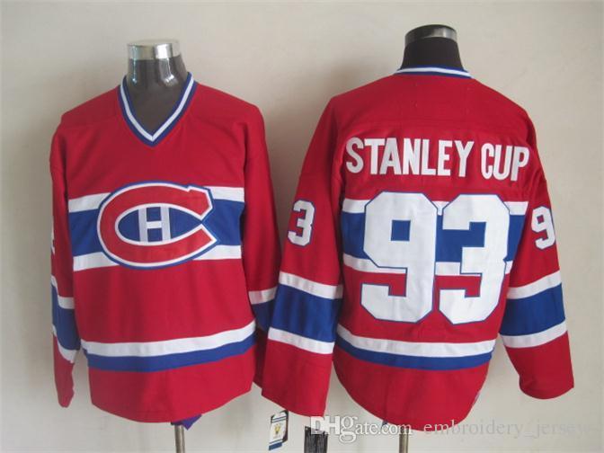 ... Montreal Canadiens Jerseys #26 Mats Naslund jersey #93 Stanley Cup #23  Bob Gainey ...