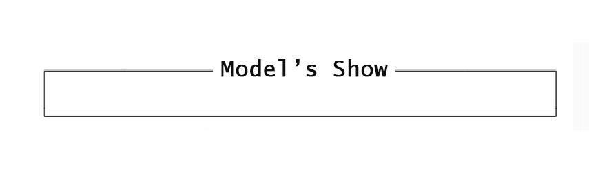 model\`s show