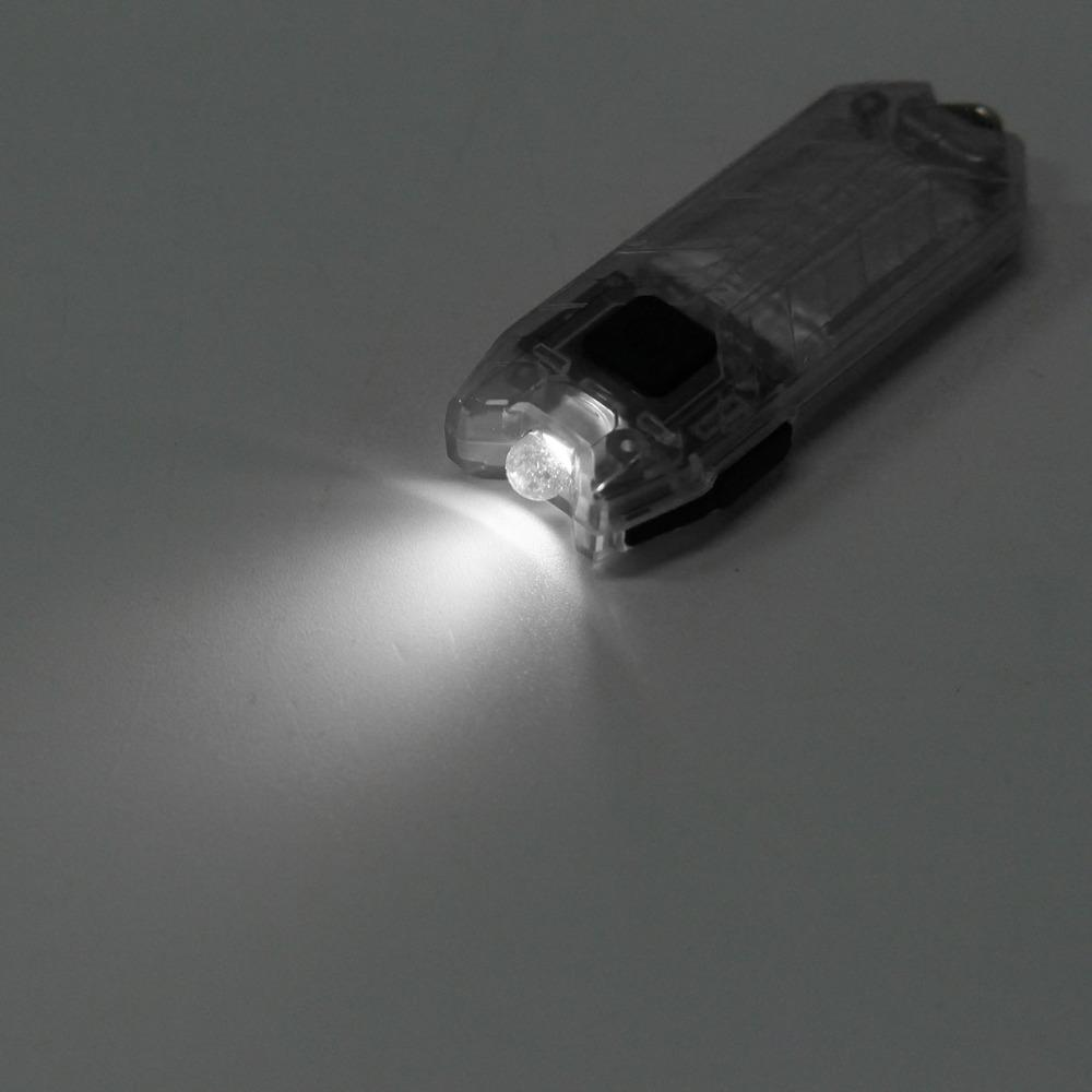 Nitecore TUBE USB Mini Flashlight Keychain Portable 2 Modes 45LM hot