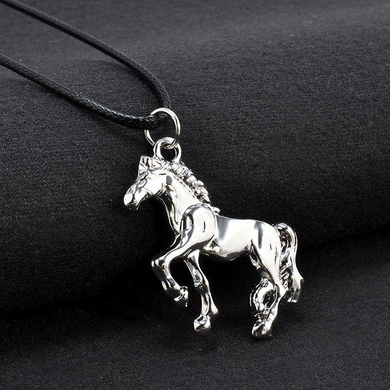 CHEVAL COUPLE Collier pendentif cadeau bijoux Cadeau Amour cheval collier amour
