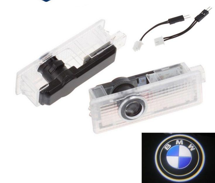 LED Kapı Uyarı Işık ile Logo Projektör için BMW E60 E90 F10 F30 F15 E63 E64 E65 E86 E89 E85 E91 E92 M5