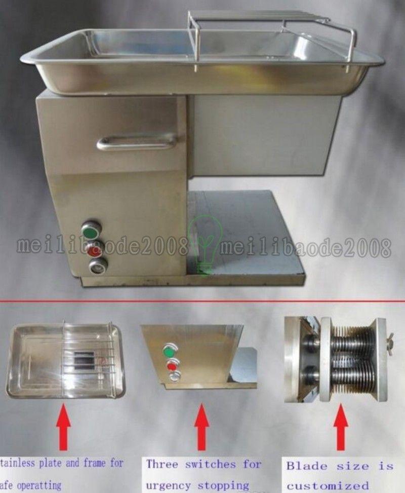 2017 NEUE Neue 110 V QX fleischschneider fleisch schneidemaschine Weit verbreitet im restaurant KOSTENLOSER VERSAND MYY