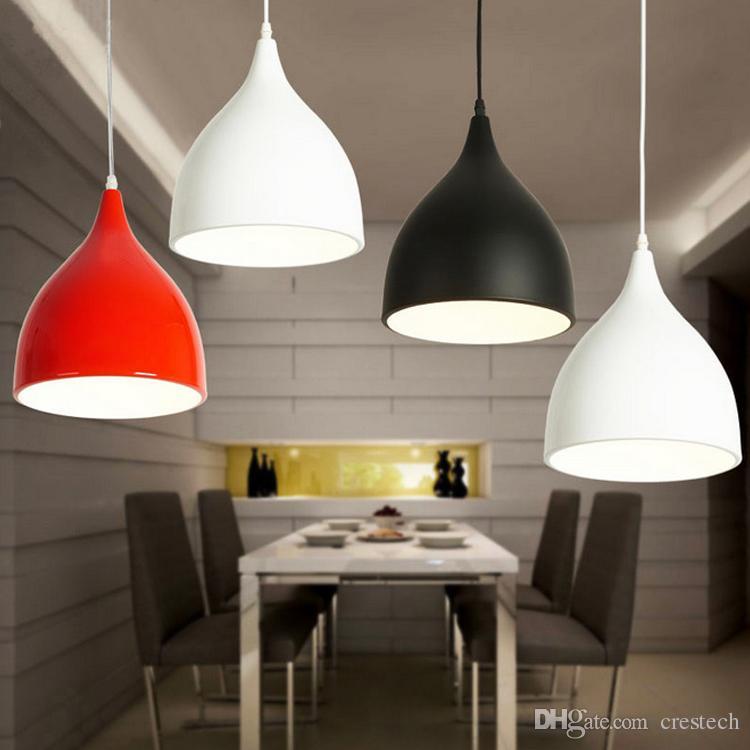 Restaurant Lampen Aluminium Tulpe Beleuchtung führte Kronleuchter eine Tasche Nordic klassische Kombination Mahlzeiten Kronleuchter E27 Drei Ein-Kopf-Kronleuchter