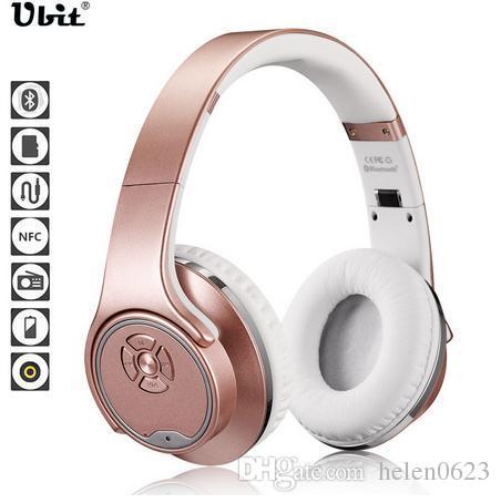 Ubit MH1 NFC 2 в 1 твист-Out динамик Bluetooth наушники с FM-радио/AUX / TF карт MP3 Спорт магия оголовье беспроводная гарнитура