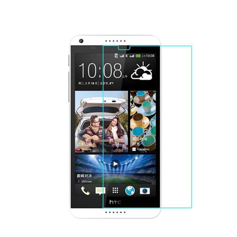 Protecteur d'écran anti-déflagrant de verre trempé le plus bas prix pour HTC D510 / D516 / D610 / D616 / D620 / D626 / D626S / D816 / D826 / D700 / D520 / A9 / 300pcs