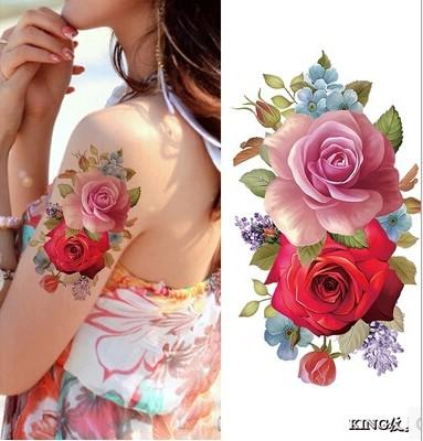 Sexy Body Art Tattoos Womens Water Transferred Temporary Waterproof Flowers Tattoos Body Art Stickers 9x19cm Painted Tattoos Personalized Fake Tattoos From Candie007 0 51 Dhgate Com