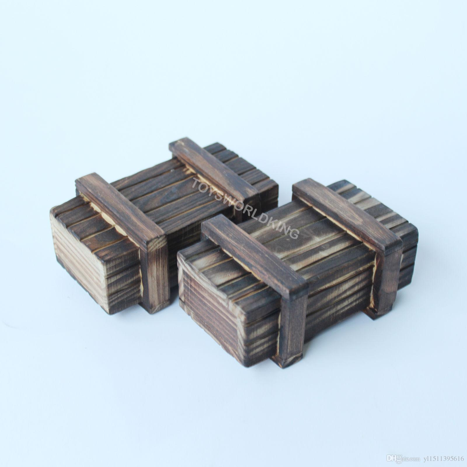 1//6 Action Figure Accessory-Wooden Crates Box