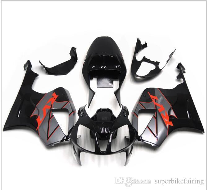3 free gifts Fairings For Honda VTR1000 RC51 SP1 SP2 00 01 02 03 04 05 06 ABS Motorcycle Fairing Kit Bodywork Black Grey
