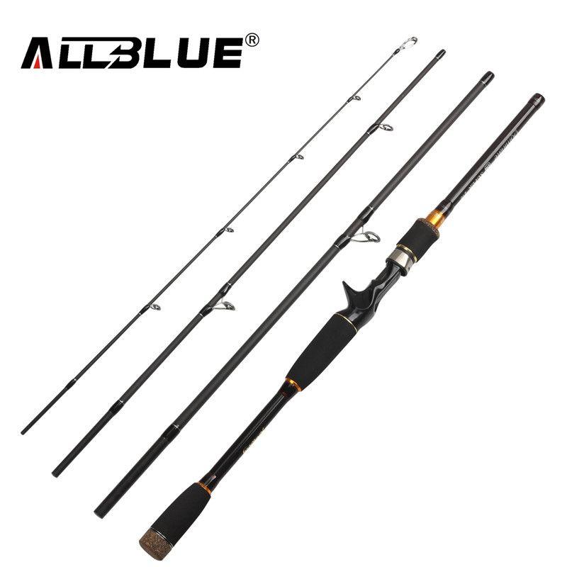 2017 Nuova Canna Da Pesca Spinning Casting Rod 99% Fibra di Carbonio Telescopico 2.1 M 2.4 M 2.7 M Pesca Da Pesca Rod Tackle peche