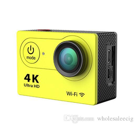 2017 eken كاميرا عمل عن بعد فائقة الدقة 4 كيلو واي فاي الرياضة الكاميرا 1080P / 60FPS 2.0 LCD عدسة 170D خوذة كام الذهاب للماء برو كاميرا