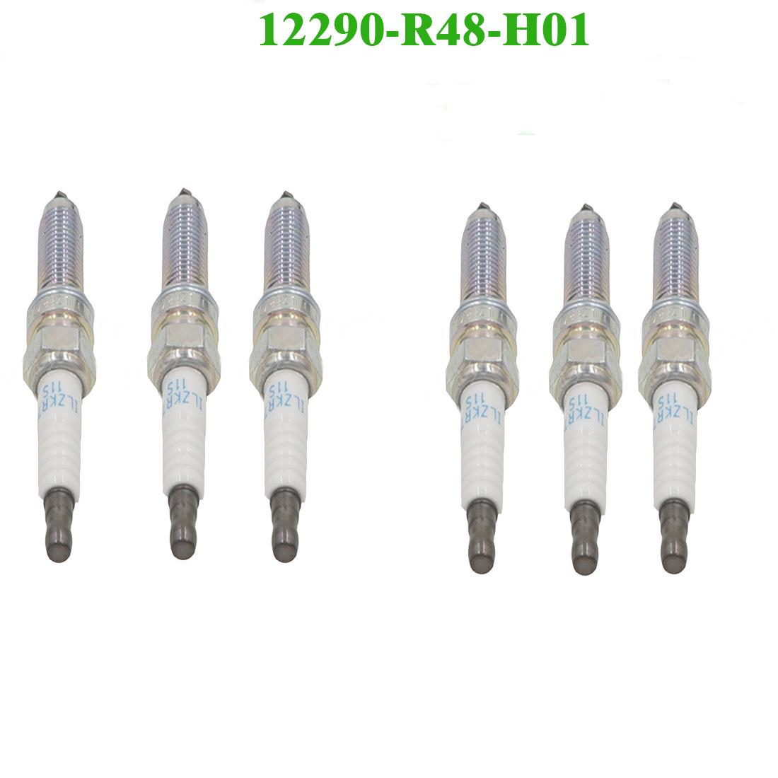 6 шт высокое качество 12290-R48-H01 подходит HONDA лазер ИК свеча зажигания NGK 5787 ILZKR7B11S