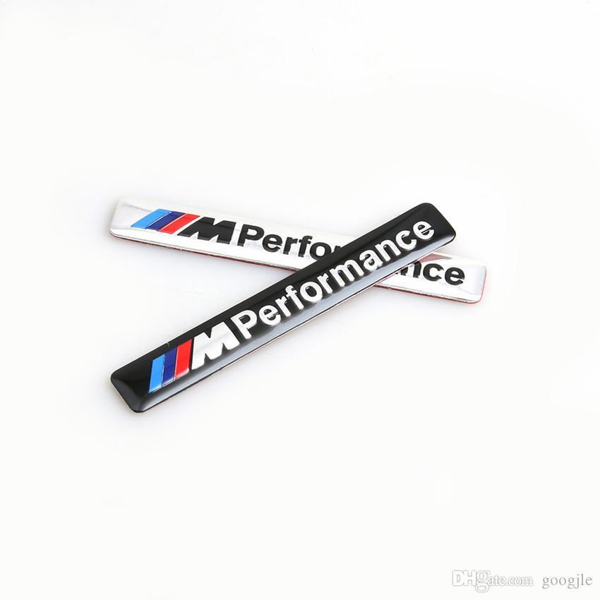 ///M Performance M Power 85x12mm Motorsport Metal Logo Car Sticker Aluminum Emblem Grill Badge for BMW E34 E36 E39 E53 E60 E90 F10 F30 M3