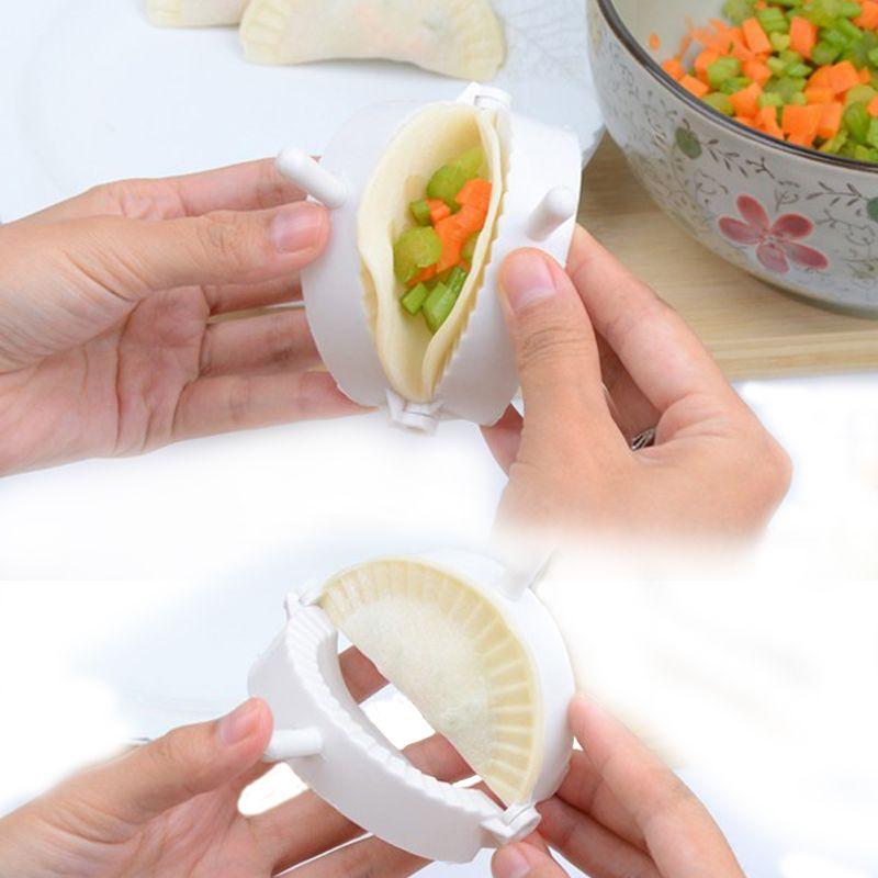 بالجملة، مريحة العجين الصحافة الفطيرة الفطيرة المعجنات رافيولي جعل قالب جيزا امباندا نمذجة صانع القالب أداة الرئيسية المطبخ الأداة