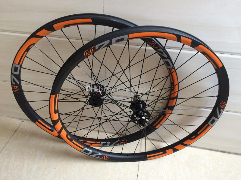 Ultra-light 29er 35mm Carbon MTB Wheels 650b 27.5er All Mountain (AM), 28H, Bicycle Symmetry Asymmetry Tubeless Compatible
