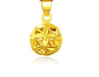 chaming Herren-Gold gefüllte Hohl Drachen (6 * 4cm) Halskette VBVB