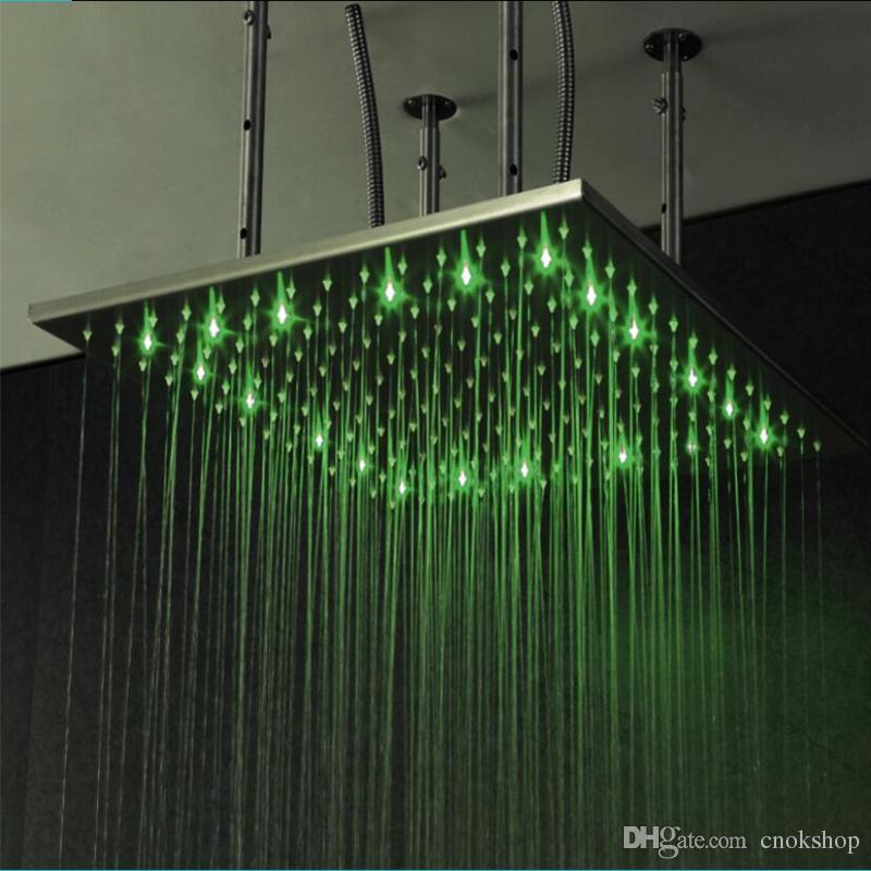 2020 Novelty Design Bathroom Shower Ceiling Mounted Led Light Up
