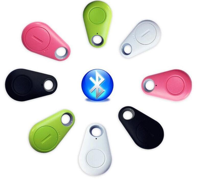 nuovo Mini GPS Tracker Bluetooth Key Finder Allarme 8g Trova oggetti a due vie per bambini, animali domestici, anziani, portafogli, auto, pacchetto di vendita al dettaglio del telefono