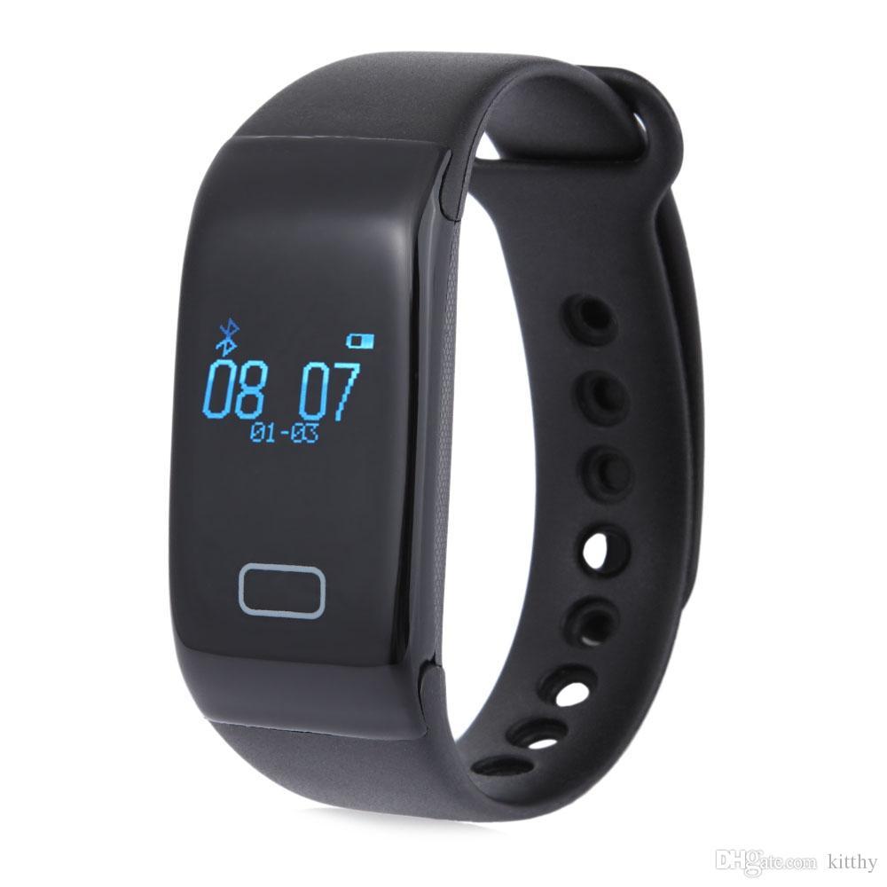 Bluetooth Smartwatch K18 Smart Wristband relojes de prueba de frecuencia cardíaca en tiempo real para iPhone 6s 7 Samsung Galaxy teléfonos inteligentes Android