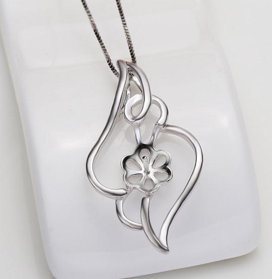 Heißer Verkaufs-natürlicher Perlen-hängender Halsketten-Großhandelszusatz verhindert Allergie DZ0219