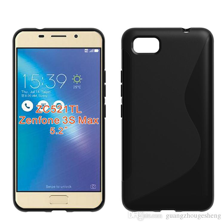 detailed look a4418 68472 For Asus Zenfone 3s Max Zc521tl Wholesale S Line Soft Tpu Gel Skin Case  Back Cover Cell Phone Cases Cheap Custom Leather Cell Phone Cases From ...