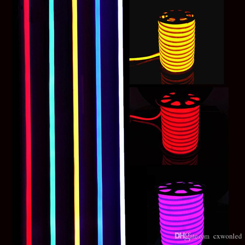New Arrival LED Neon Sign LED Flex Rope Light PVC LED Strips Indoor/Outdoor Flex Tube Disco Bar Pub Christmas Party Decoration